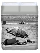 Under The Umbrella Duvet Cover