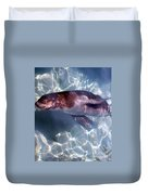 Under The Water Duvet Cover
