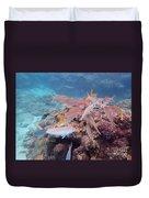 Under Water Fiji Duvet Cover