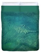 Under Water View Duvet Cover
