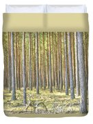 Underbrush. Duvet Cover