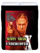 Undercover X Duvet Cover by The Scott Shaw Poster Gallery