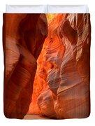 Underground Desert Lights Duvet Cover