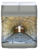 Underground Passage Duvet Cover