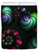 Underground Universe Duvet Cover