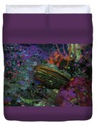 Undersea Clam Duvet Cover