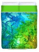 Undersea Corals Duvet Cover