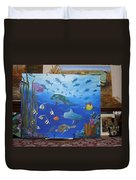 Undersea Friends Duvet Cover