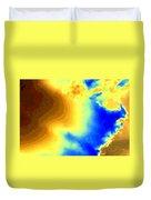 Undersea Volcano Duvet Cover
