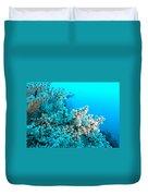 Underwater Cherry Blossom Duvet Cover