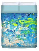 Underwater Wave Duvet Cover