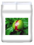 Unexploded Peony Duvet Cover