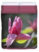 Unfolding - Star Magnolia Duvet Cover