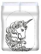 Unicorn Cameo Duvet Cover