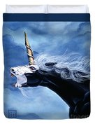 Unicorn Fury Duvet Cover