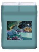 Unicorn Lake Duvet Cover