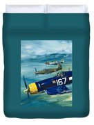 Unidentified Aircraft Duvet Cover