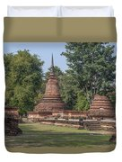 Unidentified Wat Wihan And Chedi Dthst0074 Duvet Cover