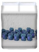Unidimensional Man-child Duvet Cover