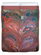 Unintended Abstract  Duvet Cover