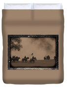 Union Cavalry Charge Duvet Cover