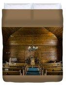 Union Christian Church Sanctuary Duvet Cover