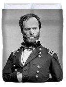 Union General William Tecumseh Sherman 1865 Duvet Cover