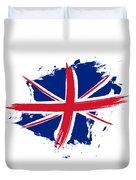 Union Jack - Flag Of The United Kingdom Duvet Cover