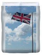 Union Jack Off Land's End Duvet Cover