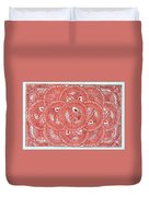 Union Light Red Duvet Cover