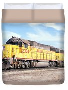 Union Pacific Up - Railimages@aol.com Duvet Cover