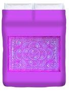 Union Purple Duvet Cover