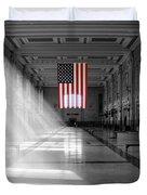 Union Station 2 - Kansas City Duvet Cover