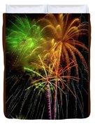 Unique Fireworks Duvet Cover