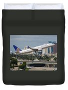 United Airlines Duvet Cover