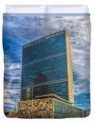 United Nations Headquarters Duvet Cover