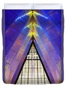 United States Air Force Academy Cadet Chapel 3 Duvet Cover