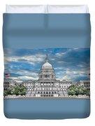 United States Capitol Building Duvet Cover