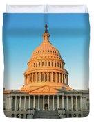 United States Capitol  Duvet Cover