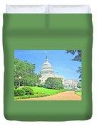 United States Capitol - Washington Dc Duvet Cover