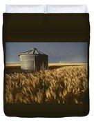United States, Kansas Wheat Field Duvet Cover
