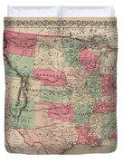 United States Of America Duvet Cover