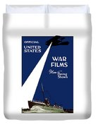 United States War Films Now Being Shown Duvet Cover
