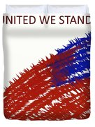 United We Stand Duvet Cover