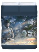 Universal Flow Duvet Cover by Christopher Beikmann