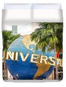 Universal Studio Globe Duvet Cover