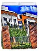 University Of Maryland - Byrd Stadium Duvet Cover