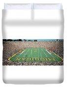 University Of Michigan Stadium, Ann Duvet Cover