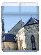 University Of Notre Dame Basilica  Duvet Cover