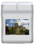 University Of Notre Dame Main Building 1879 Duvet Cover